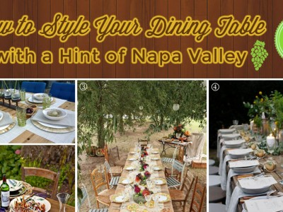 Napa Valley Style Tablescapes
