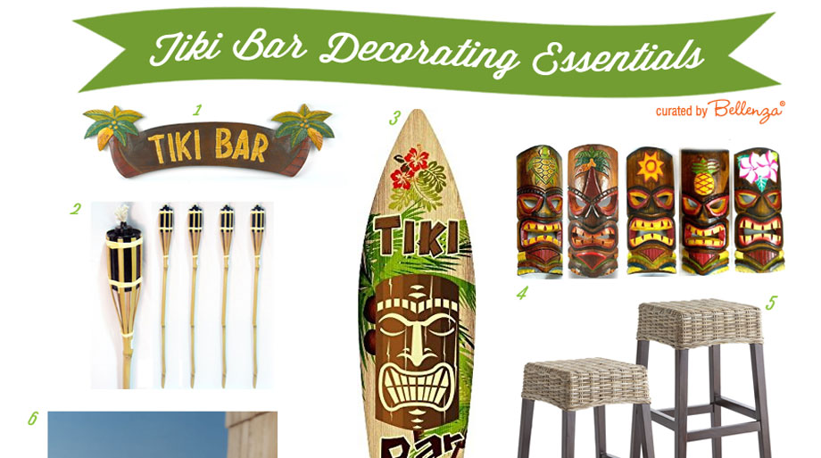 DIY Decorating Ideas for a Backyard Tiki Bar Hut Bellenza