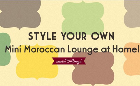 Bring a bit of Morocco into your home by Bellenza!