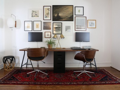 Tight workspace style via blog of Project Palermo.