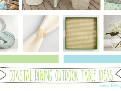 Styling Ideas for a Coastal Dining Table Setting
