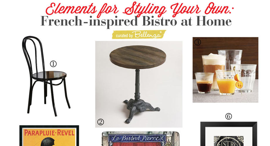 Parisian-inspired Picks for a French Bistro Dining Nook