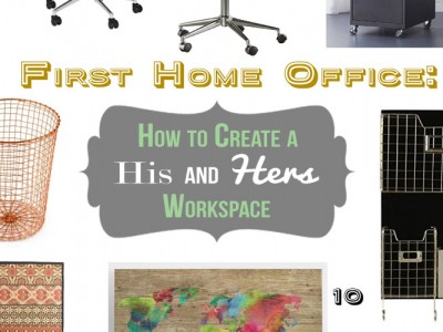 How to Set up a Workspace for Working Couples