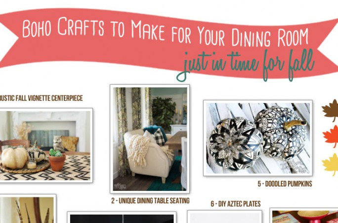 10 Boho Dining Decorations