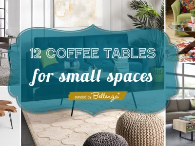 12 Small Coffee Tables for Small Living Rooms