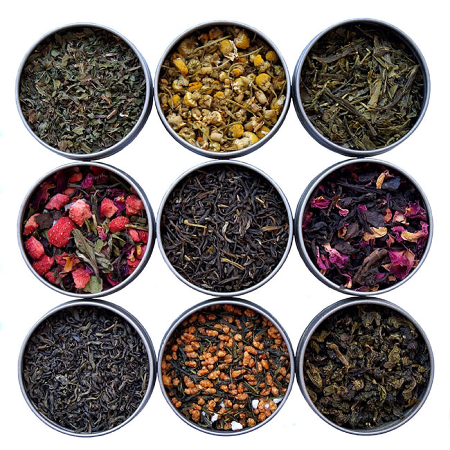 11 -Tea Sampler from Teavana via Amazon