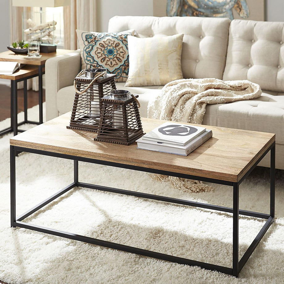 Takat Mango Coffee Table via Pier One