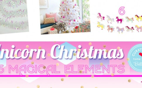 How to Decorate with Unicorns this Christmas
