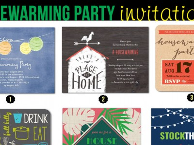 Unique Housewarming Party Invitations for Your First Home