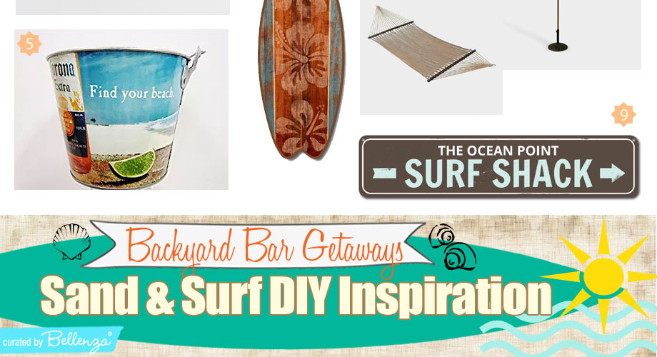 Surf Themed Backyard Bar Beach Getaways to Inspire You