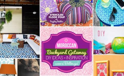 Create Your Own Moroccan Themed Backyard Getaway