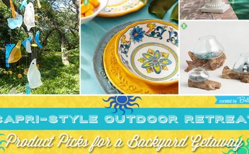 How to Create Your Own Capri-inspired Backyard Getaway