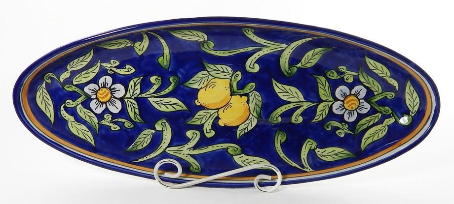 6 - Le Souk Ceramique Extra Large Oval Platter,