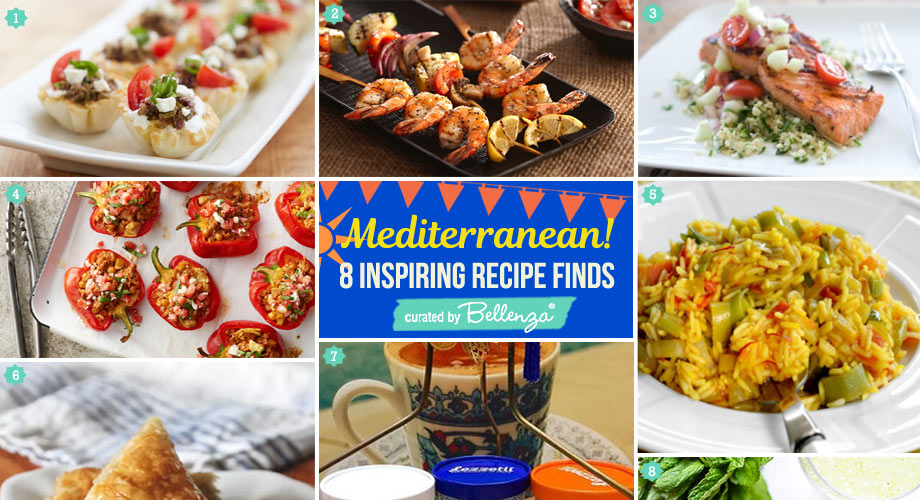 Mediterranean Seafood BBQ Party Food