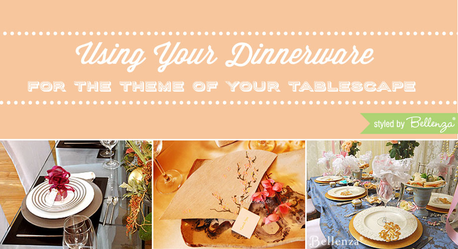 Themed dinnereware for your tablescape.
