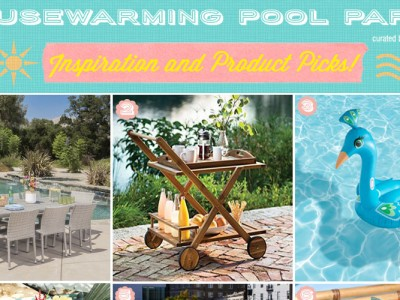 First Home Pool Party for Newlyweds