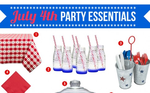 Party Essentials for Your First 4th of July Party!