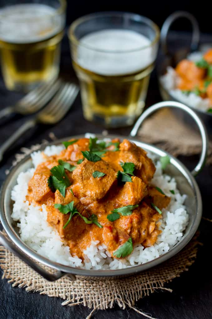 3 - Crockpot Butter Chicken via Kitchen Sanctuary