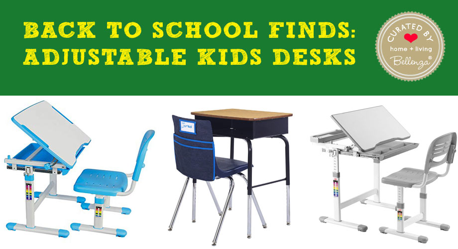 Back to School Finds: Adjustable Kids Desks