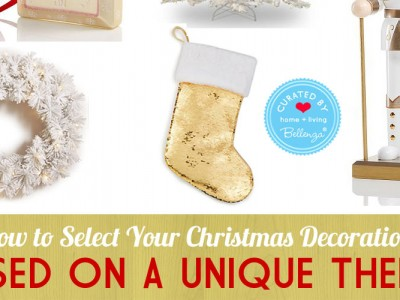 Unique Themed Christmas Decorations for the Home. Stylish Editor Picks from Bellenza!