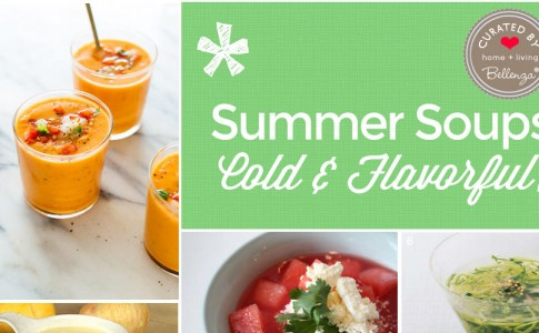 Cold, flavorful soup recipes