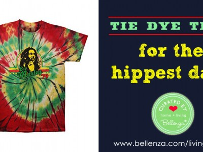 Tie-dye Tees for Dads to Wear this Summer