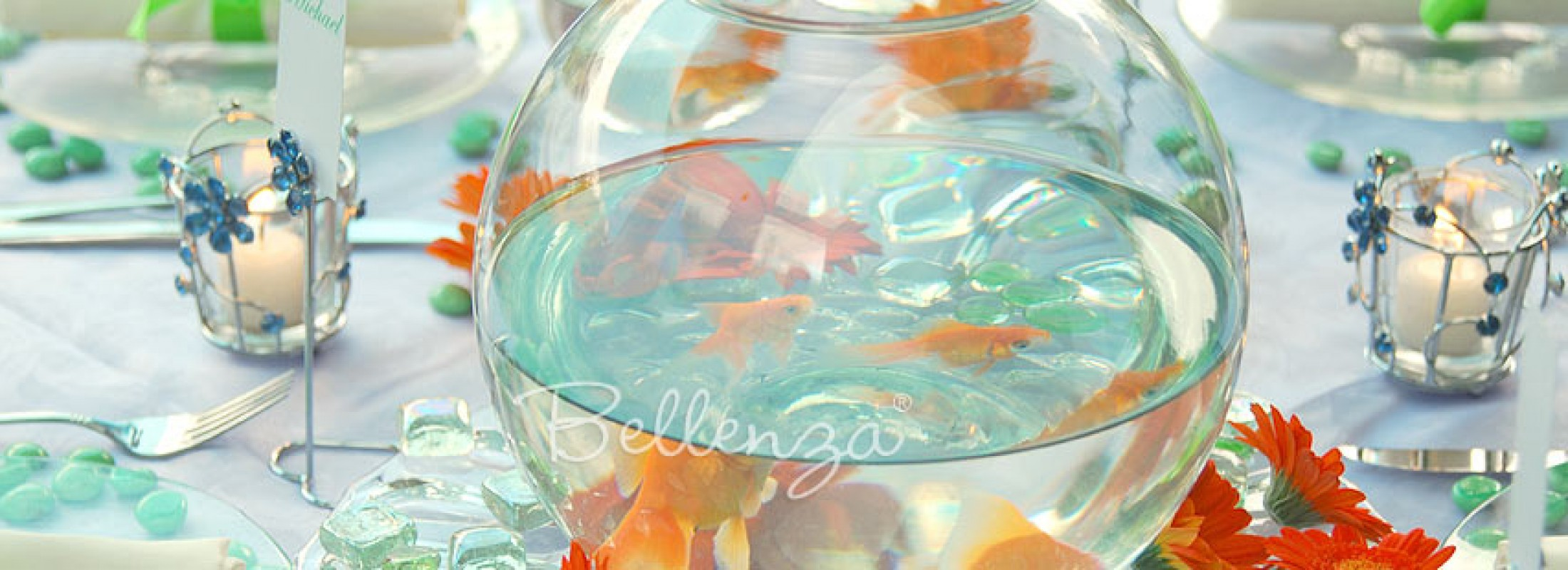 See Do How To Make Fishbowl Centerpieces For A Birthday