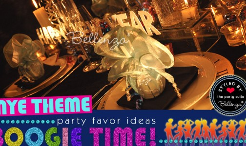 Favor Ideas for a Disco Glam NYE Party