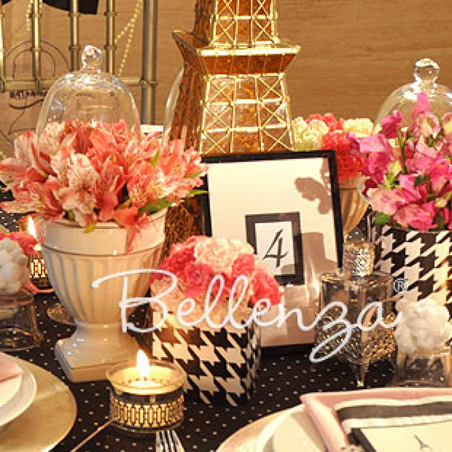 Styling Ideas for a Paris-themed Sweet 16 Soiree!