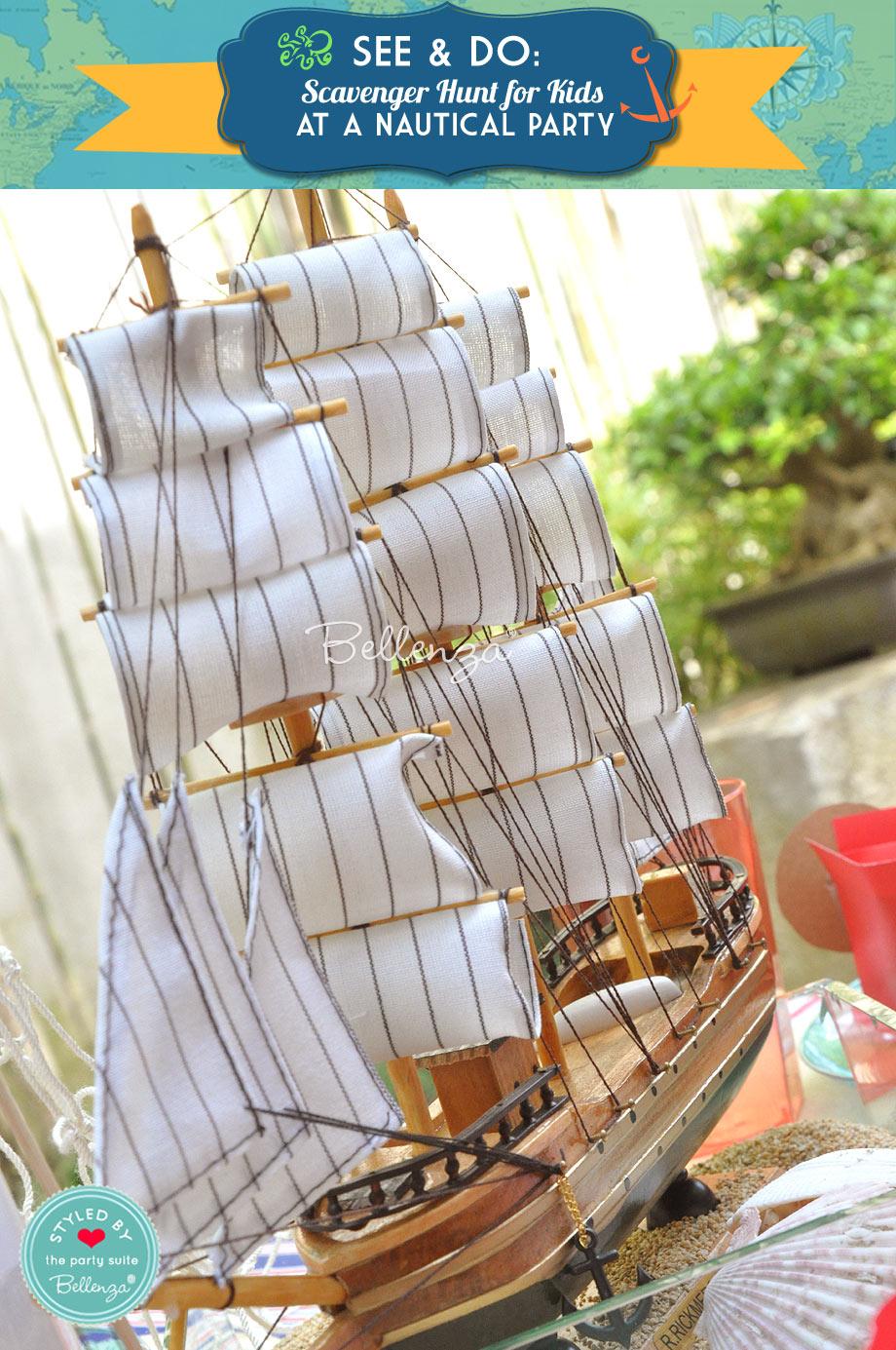 a treasure hunting ship