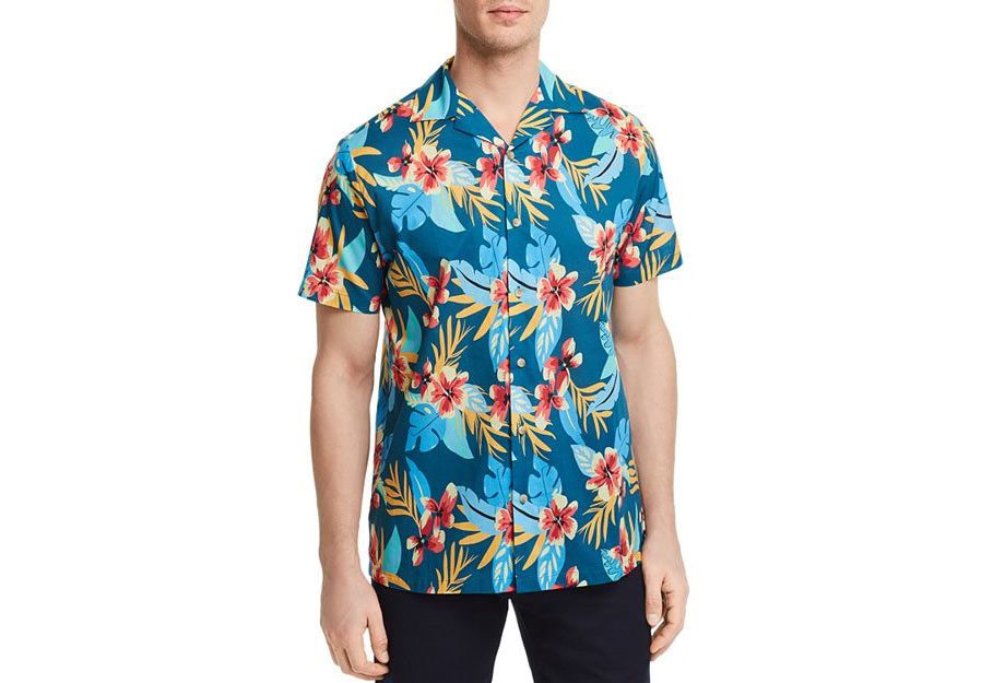 1 - Onia Fiji Tropical Print Button-Down Shirt - via Bloomingdale's