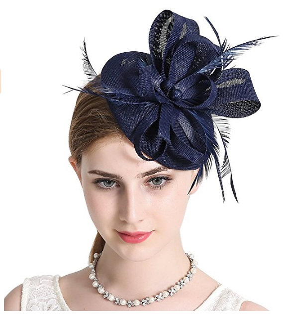 pillbox fascinator via Amazon