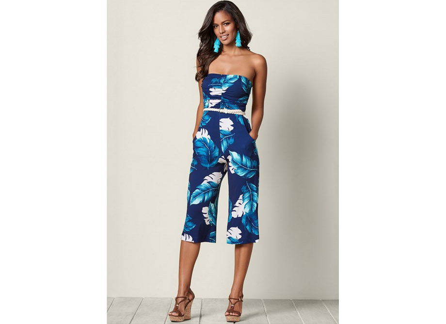 14-jumpsuit in tropical blue