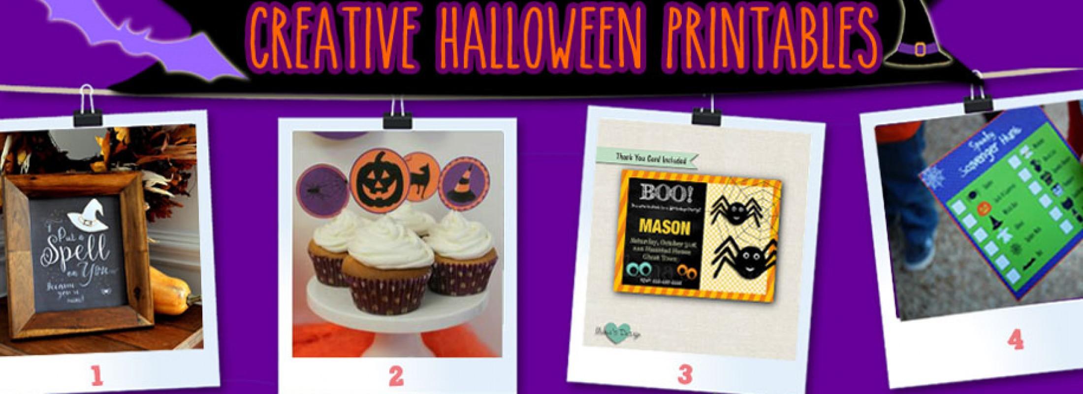 Halloween printables for kids! A Pinterest Fest 2015!