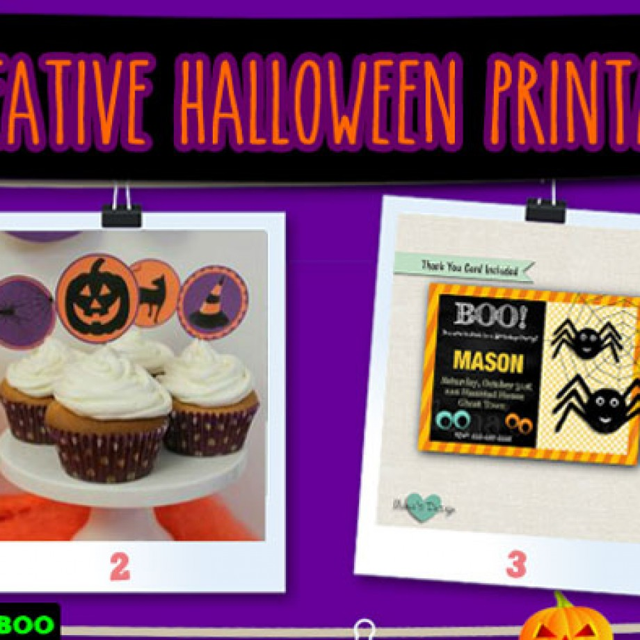 Halloween printables for kids! A Pinterest Fest 2015!