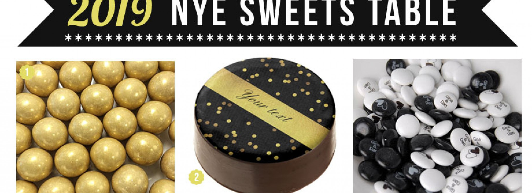 A Glamorous Candy to Ring In the New Year with the Sweetest Style!