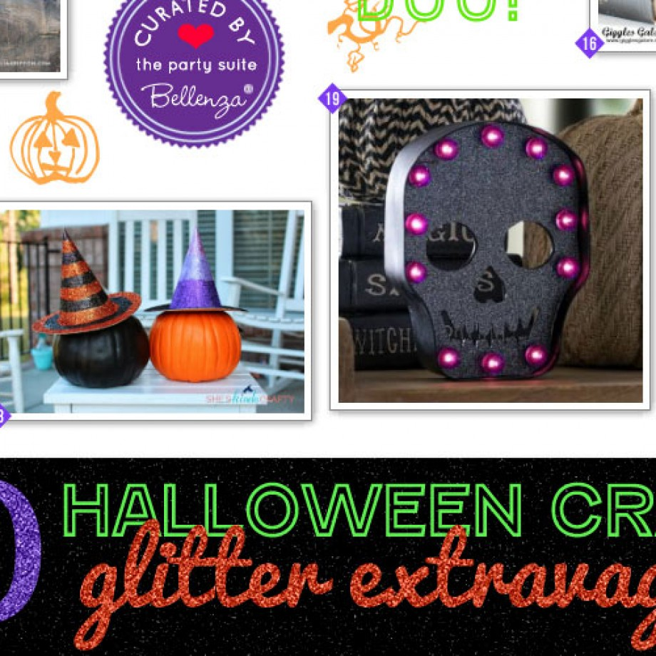 Halloween Glitter Extravaganza of Crafts