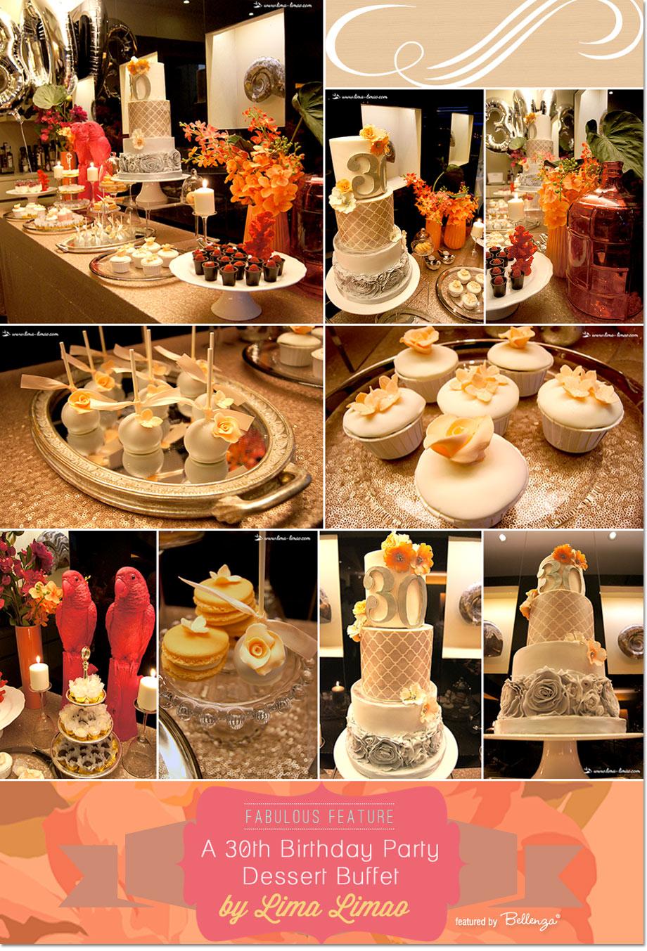 Buffet menu. Buffet table for birthday 22