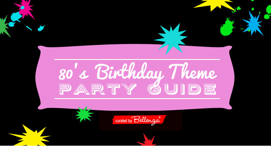 80s Dance Party Guide For A 40th Birthday Bash