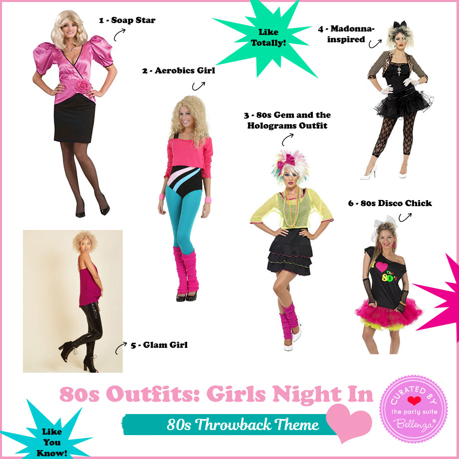Fun 80s Party Outfits For A Girls Night In Like Totally