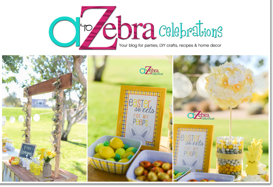 A to Z Celebrations Easter Party on a Budget
