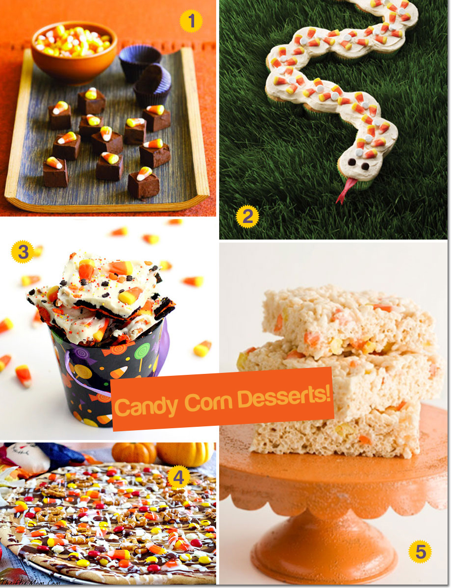 5 cool ways to reinvent halloween desserts with candy corn! - unique