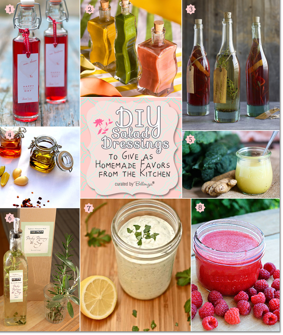DIY Salad Dressing Favor Ideas with a Homemade Spin| The Party Suite at Bellenza