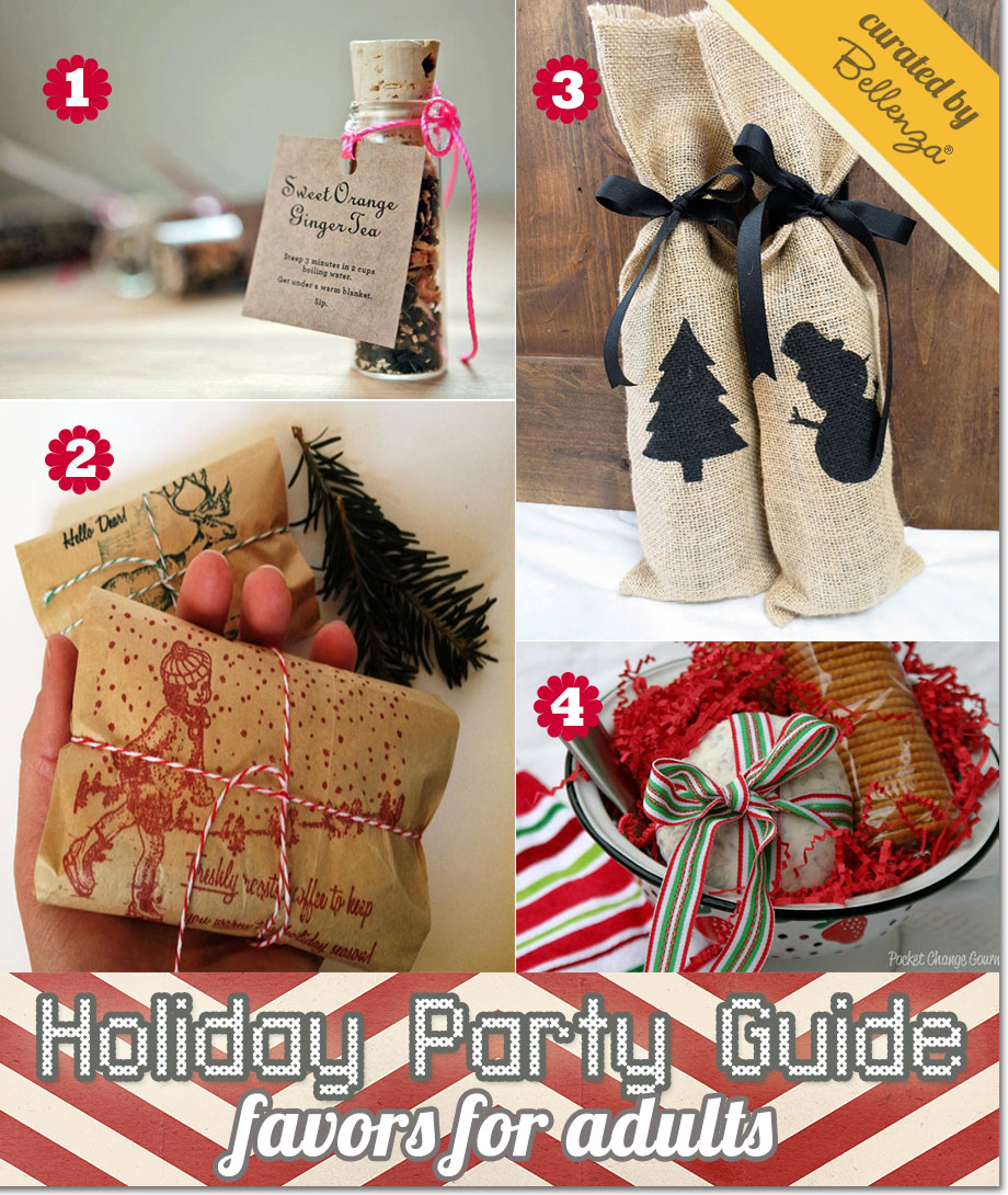 Ideas for christmas party giveaways