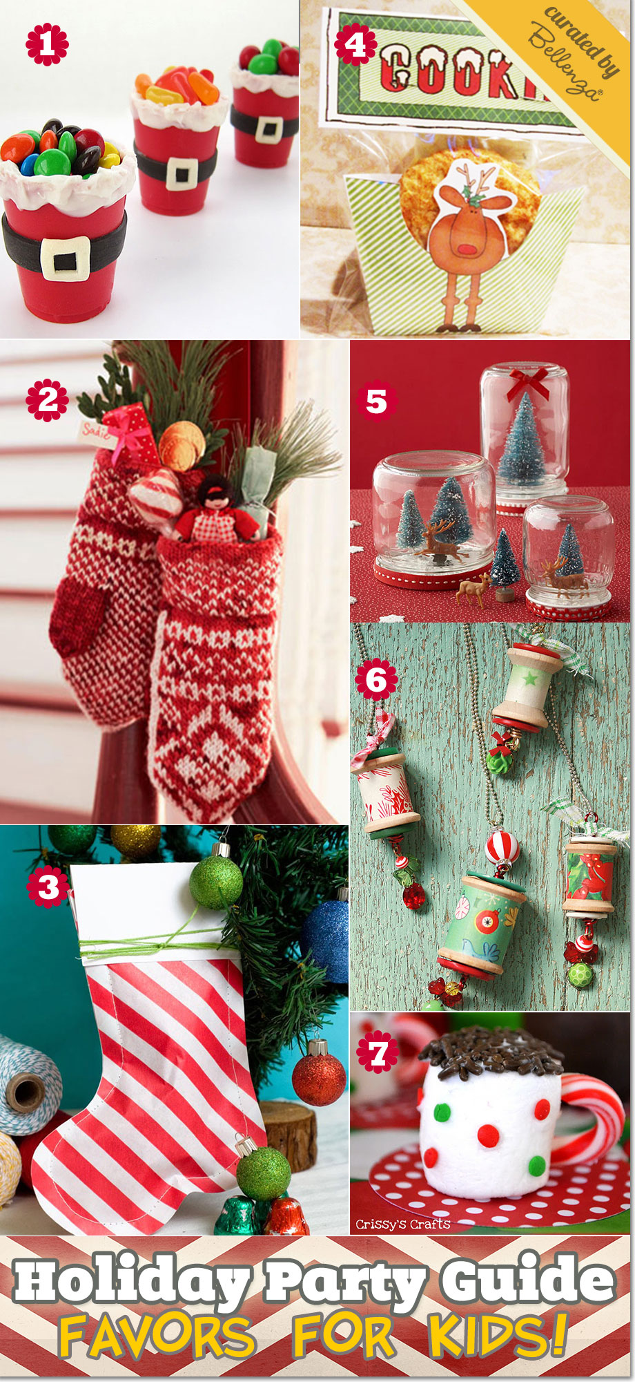 holiday party favors for kids during christmas - Childrens Christmas Party Decoration Ideas
