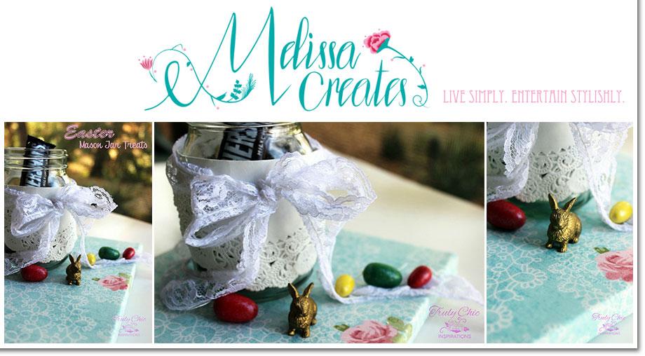 Easter Mason Jar Treats by Melissa Creates