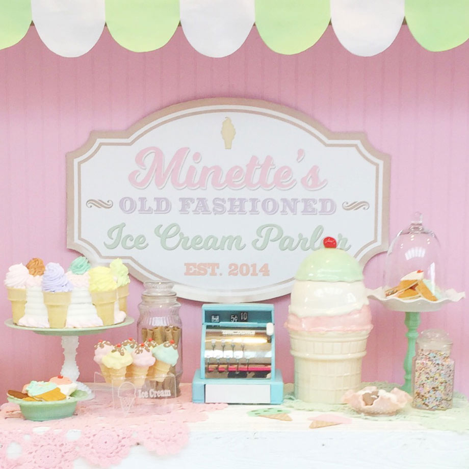 Styling by Minted and Vintage/
