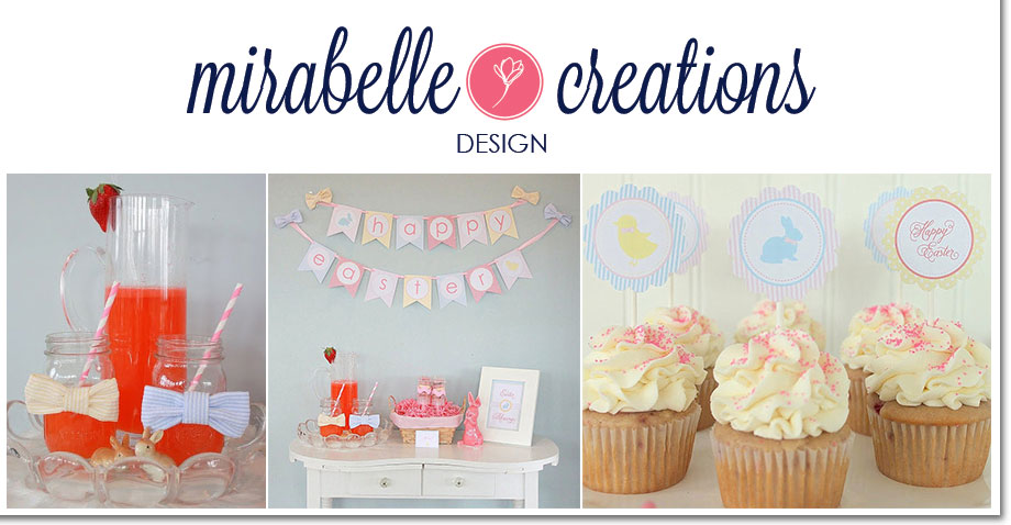 Seersucker and Bow Ties Easter Collection by Mirabelle Creations