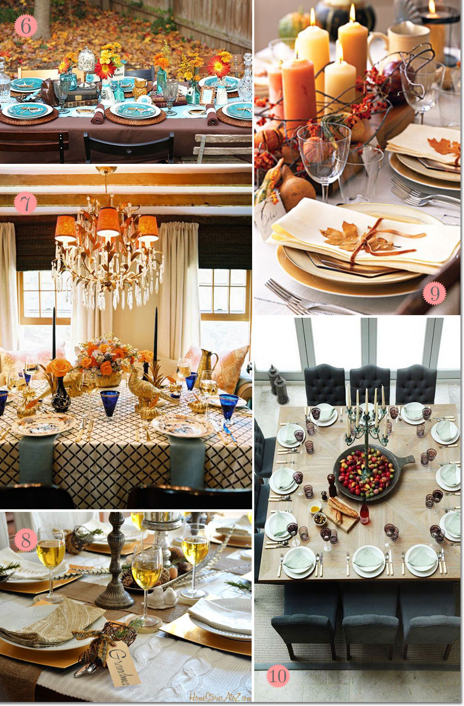 Modern Thanksgiving Table Settings Ideas Thanksgiving Table Settings