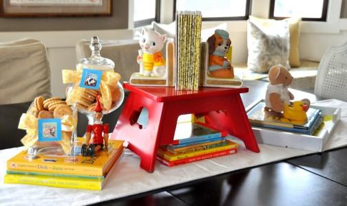 Golden Books theme. Photo courtesy of Aesthetic Nest